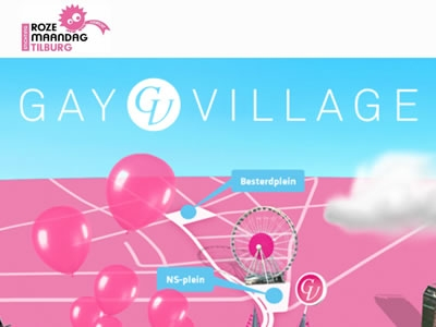 Gay Roze Maandag at Tilburg Fair